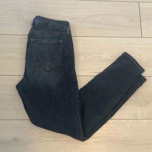 Old navy rockstar distressed jeans